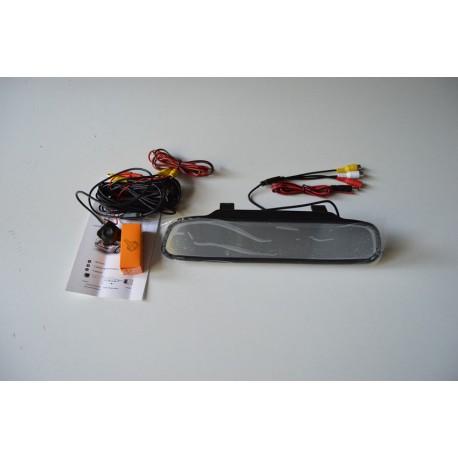 4,3 pulgadas de retrovisor espejo pantalla cámara de aparcamiento camara trasera