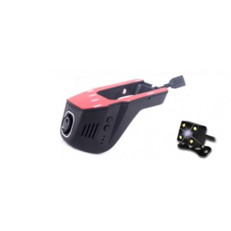 Camara oculta de grabacion para coche cámara delantera y trasera wifi