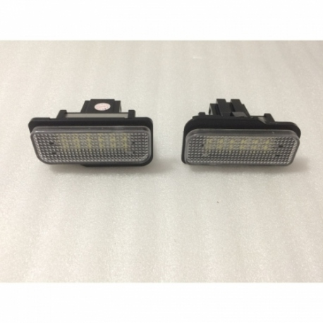 Plafones Led para MatrÍcula Mercedes Clase CLS W219 (04-10) SLK R171 (04-10)
