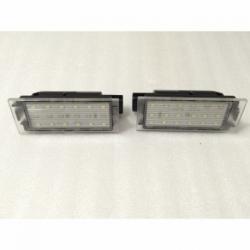 Plafones Led para MatrÍcula Volvo C70, V70, XC70, S40, V50, S60, V60, XC60, XC90