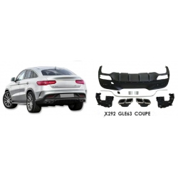 Difusor cola de escape embellecedor Mercedes Benz GLE COUPE 2015 - 2018