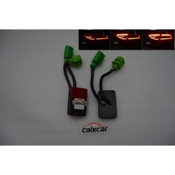 AUDI A6 C7 SEDAN INDICADOR ADAPTADOR SEMI DINAMICOS INTERMITENTES LED FARO