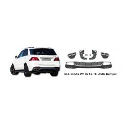 Difusor cola de escape embellecedor Mercedes-Benz w166 Gle63 AMG