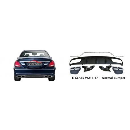 Difusor cola de escape embellecedor Mercedes-Benz Clase E W213 2016-2017