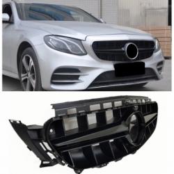 Calandra parrilla Mercedes Benz Clase E W213 / S213 / A238 / C238 (Color Negro)