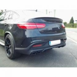 Alerón Spoiler Trasero Negro metalico compatible con Mercedes Benz GLE COUPE C292