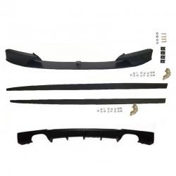 Labio Delantero y Kit de Difusores compatible con BMW Serie 3 F30 / F31 Pack M