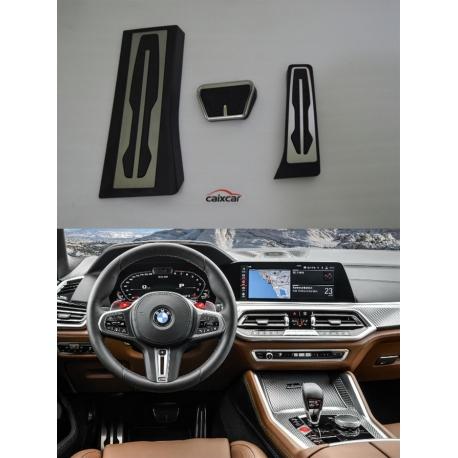 PEDALES APOYAPIE REPOSAPIES BMW X5 G05 X6 G06 X7 G07 CAMBIO AUTOMATICO
