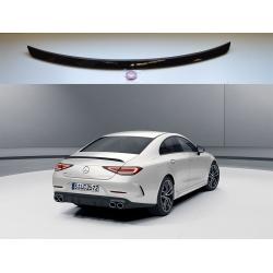 Aleron Mercedes Benz CLS COUPE C257 2018-  alerón negro brillo spoiler