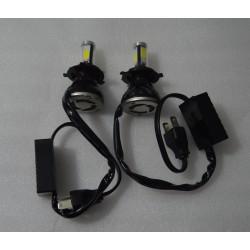 2 x bombillas LED H7 6000K 40W 4000LM 360