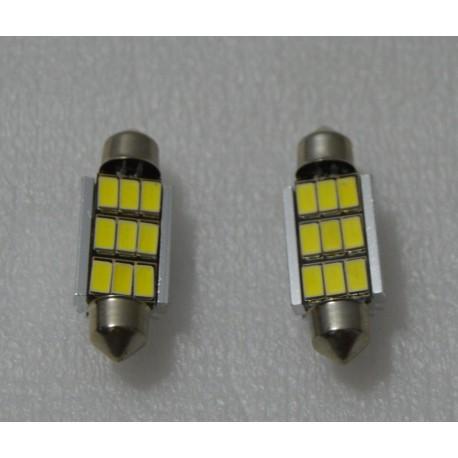 2 x BOMBILLAS LED T10 W5W 24 CANBUS 6000K